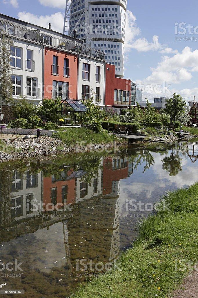 Apartments in Malmo stock photo