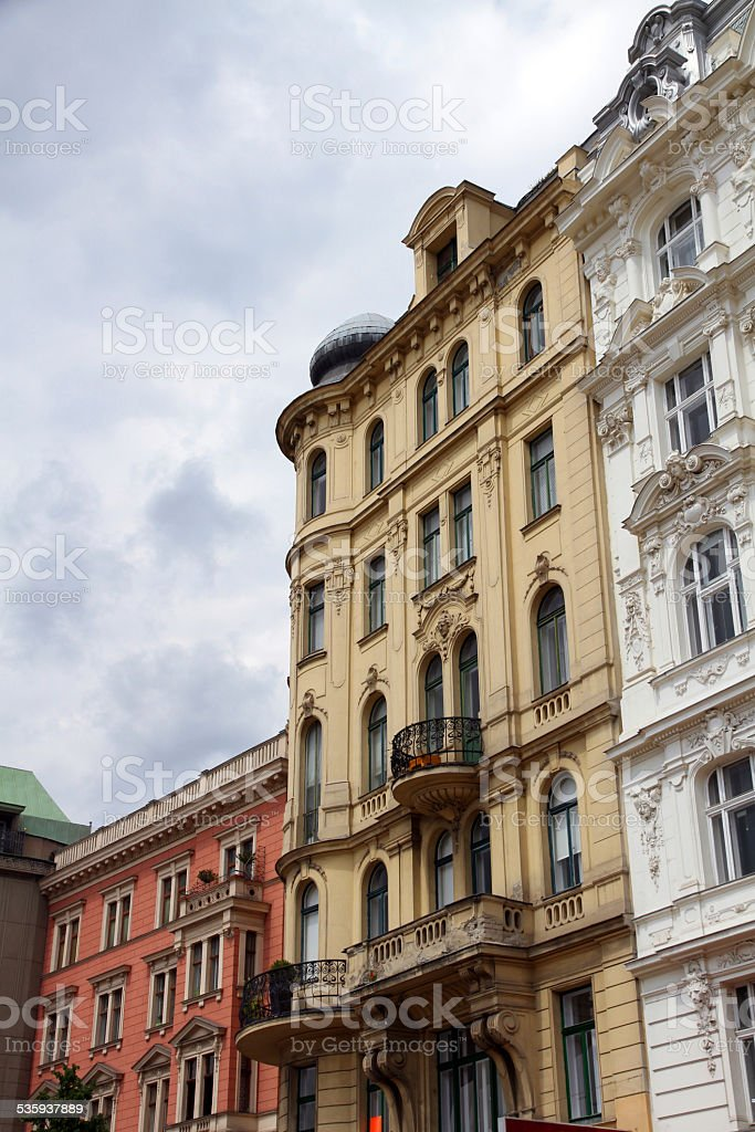 Apartments in Vienna stock photo