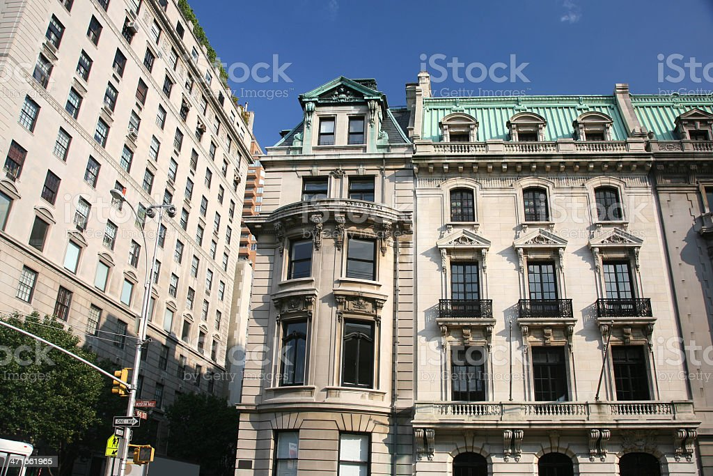 Apartments On Fifth Avenue royalty-free stock photo