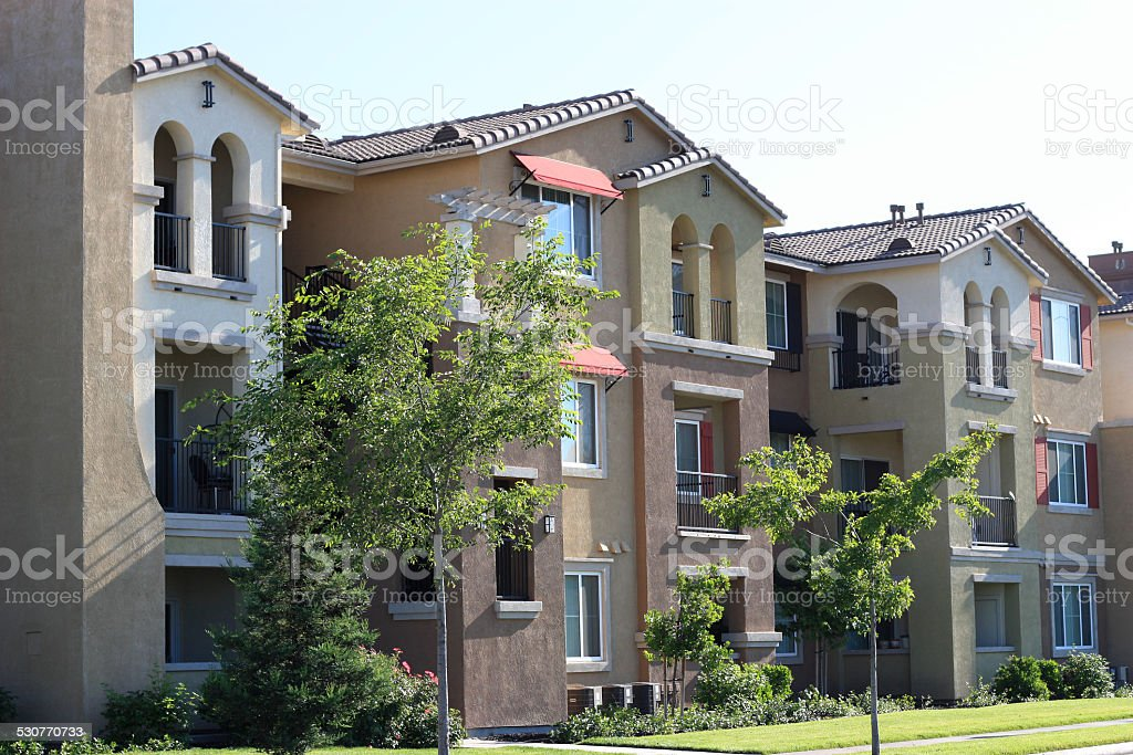 Apartments stock photo