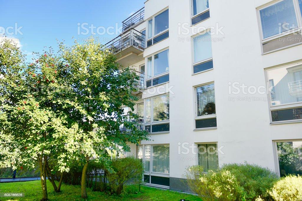 Apartments, Stockholm stock photo