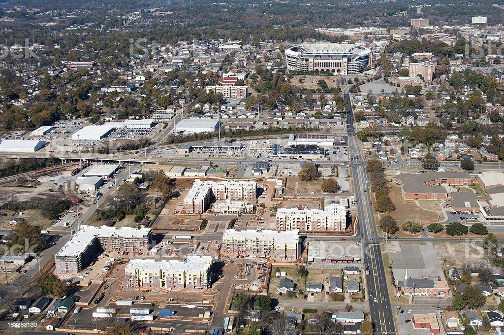 Apartments/Condos Construction stock photo