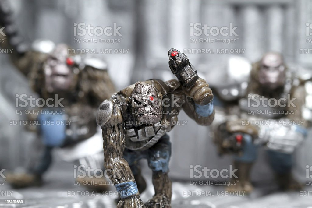 Ape Army stock photo