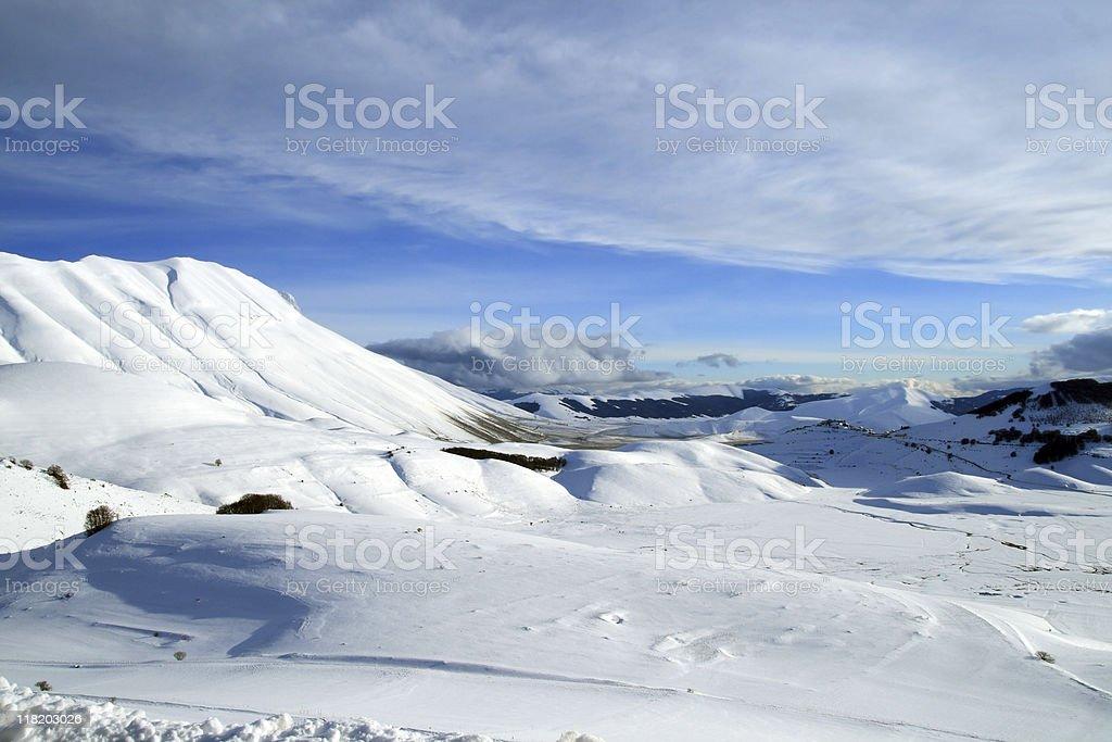 Apennine Mountains royalty-free stock photo