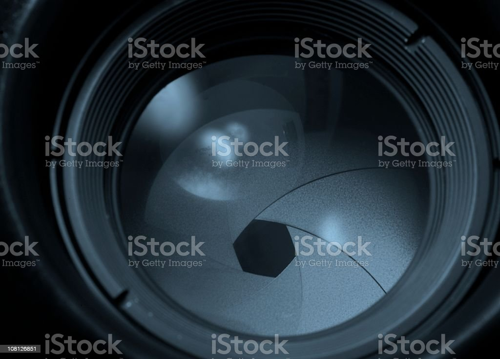Aperture 2 version cool stock photo