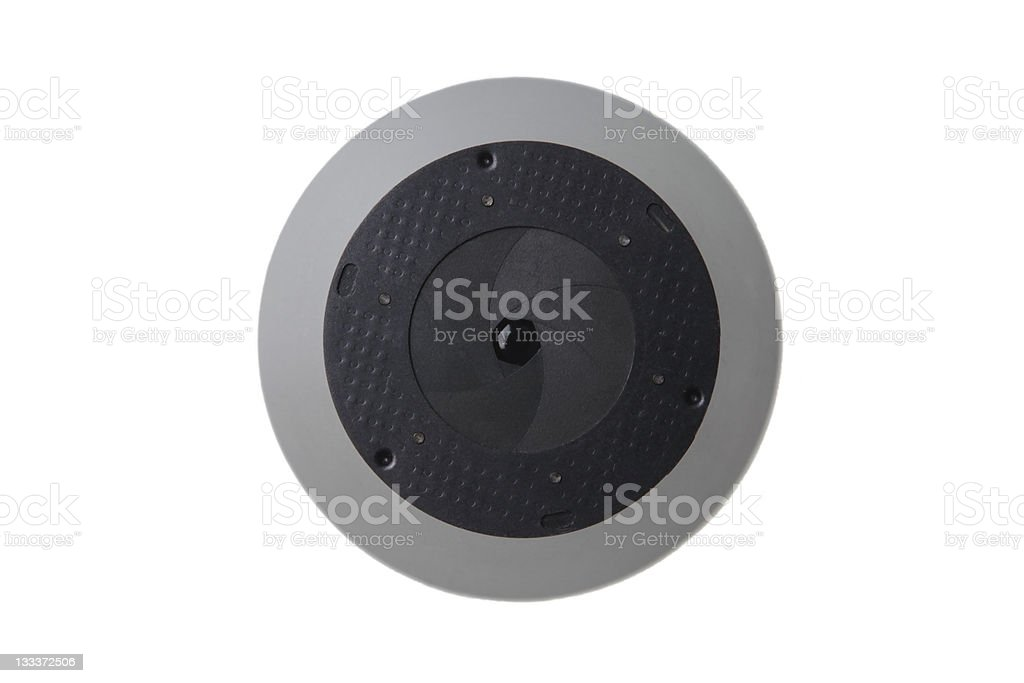 Aperture of a lens royalty-free stock photo