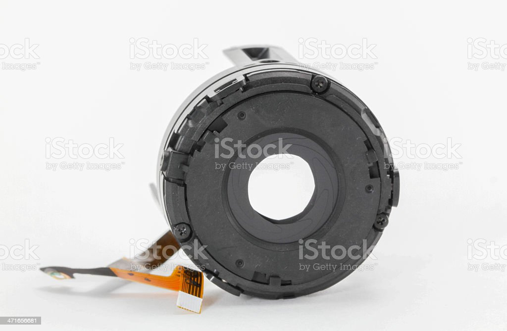 aperture of lens royalty-free stock photo