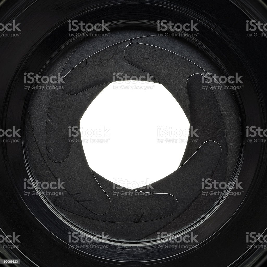aperture royalty-free stock photo