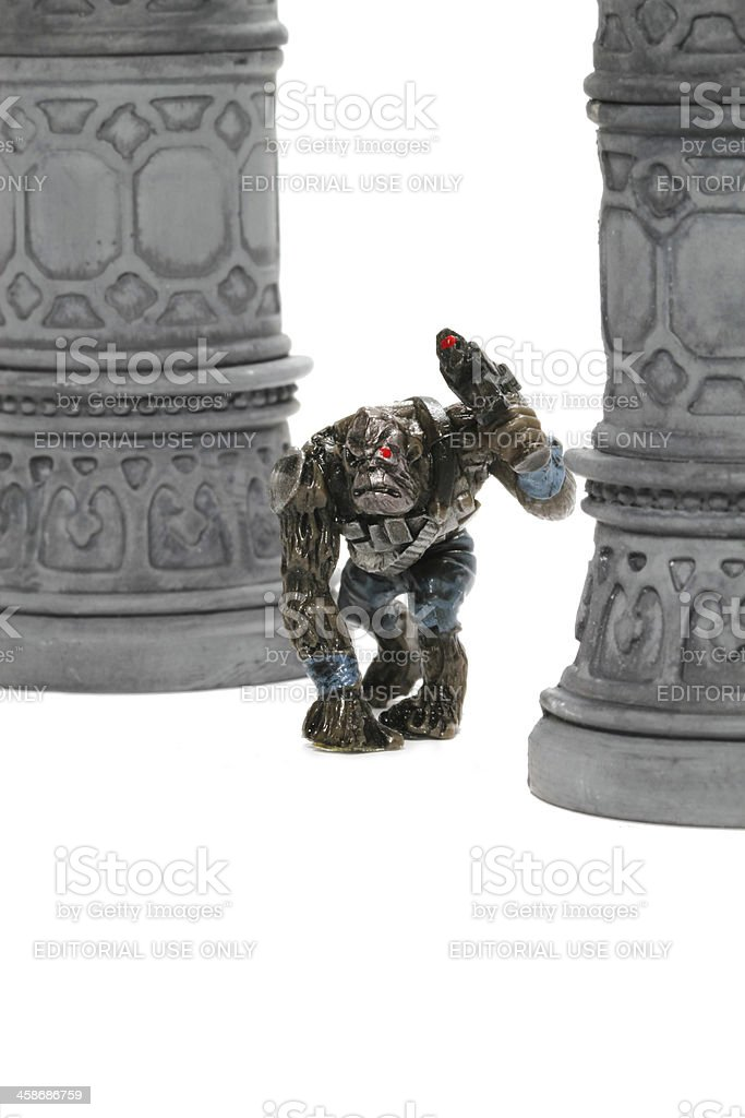 Apes in the Temple royalty-free stock photo