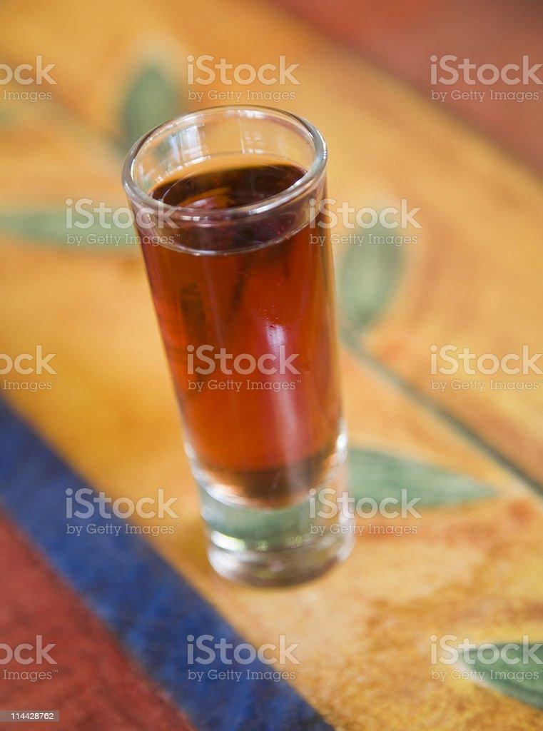 Aphrodisiac drink royalty-free stock photo
