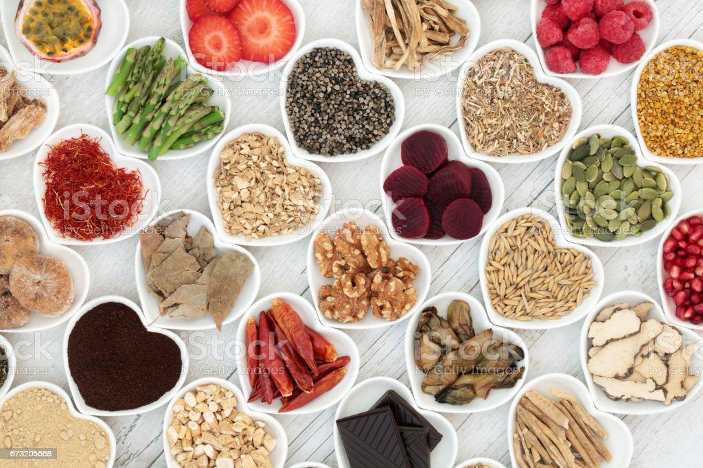 Aphrodisiac Food for Sexual Health stock photo