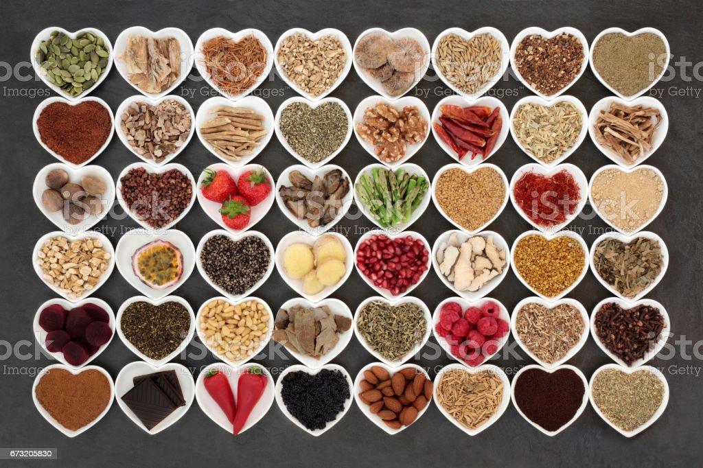 Aphrodisiac Love Food stock photo