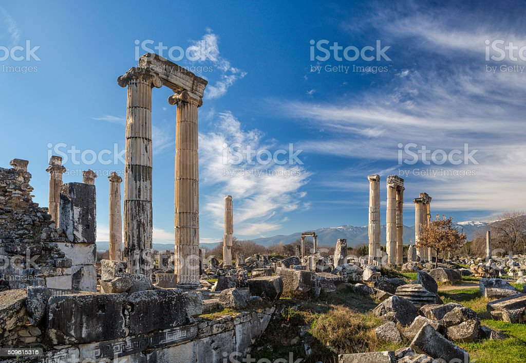 Aphrodisias, Turkey stock photo