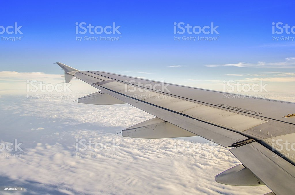 aplane wing royalty-free stock photo