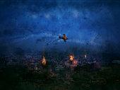 Apocalypse Just began New Delhi City India 2020