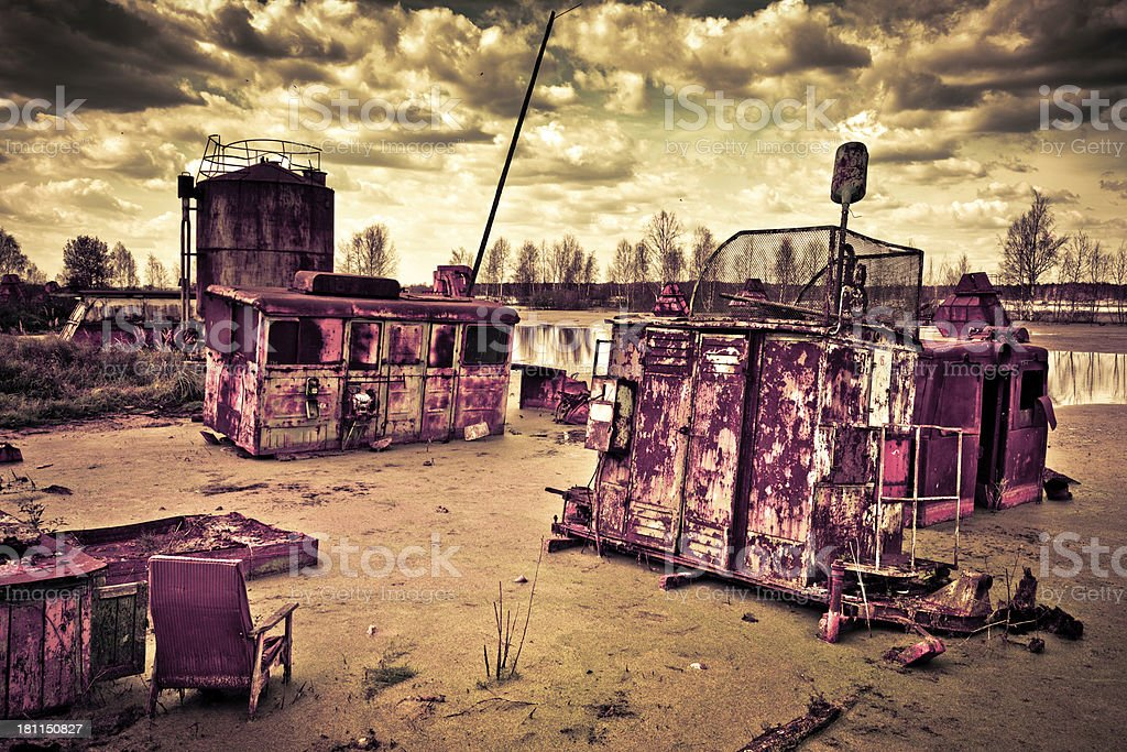 Apocalypse now royalty-free stock photo