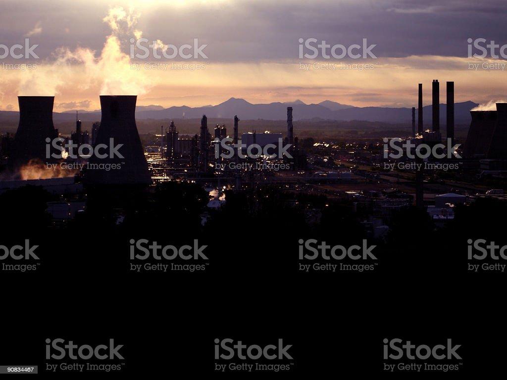 Apocalyptic royalty-free stock photo