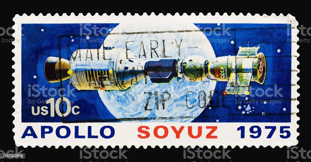 Apollo 1975 stock photo