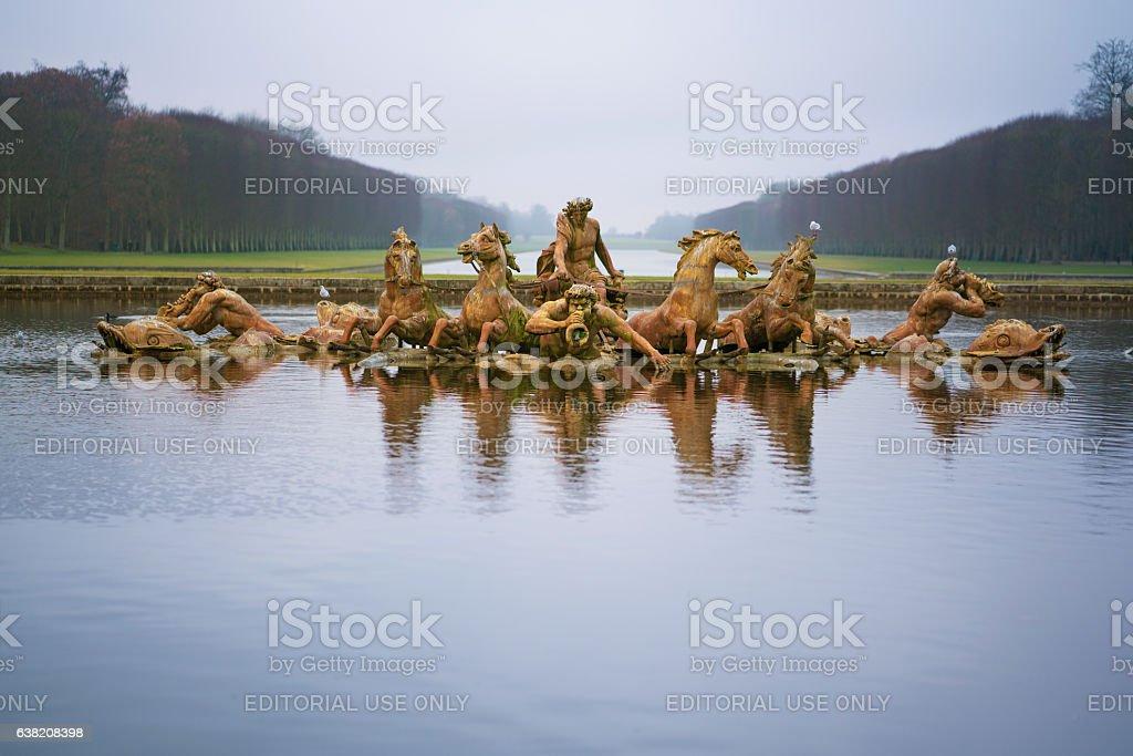 Apollo Fountain at Versailles stock photo