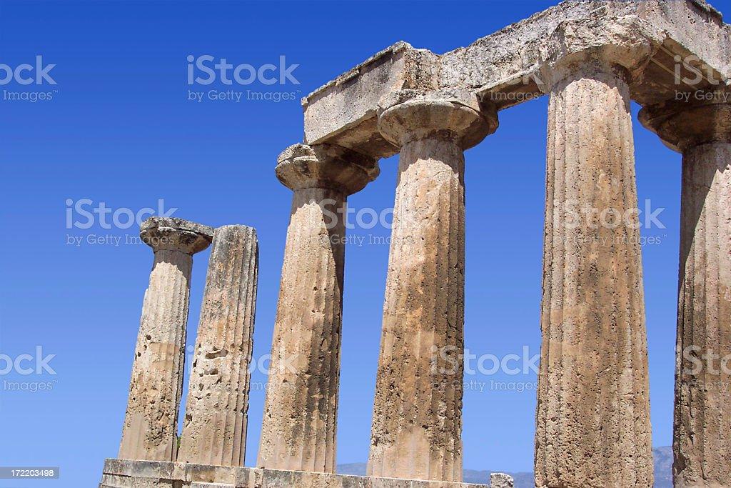 Apollo Temple 3 stock photo
