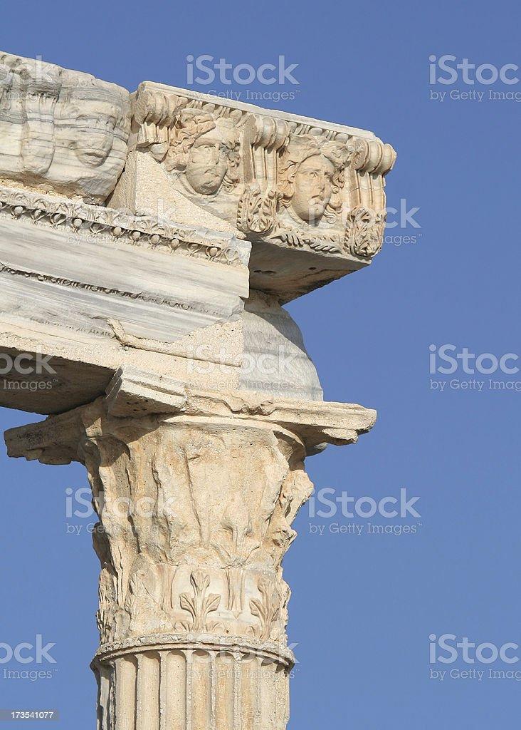 Apollo Temple stock photo