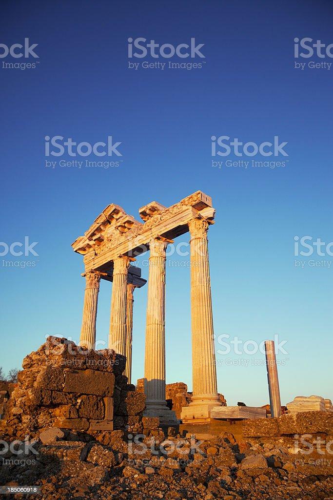 Apollo Temple royalty-free stock photo