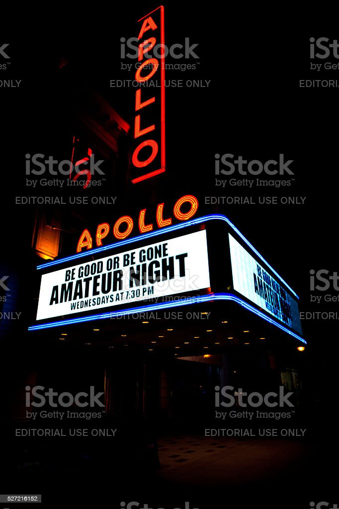 Apollo Theater stock photo