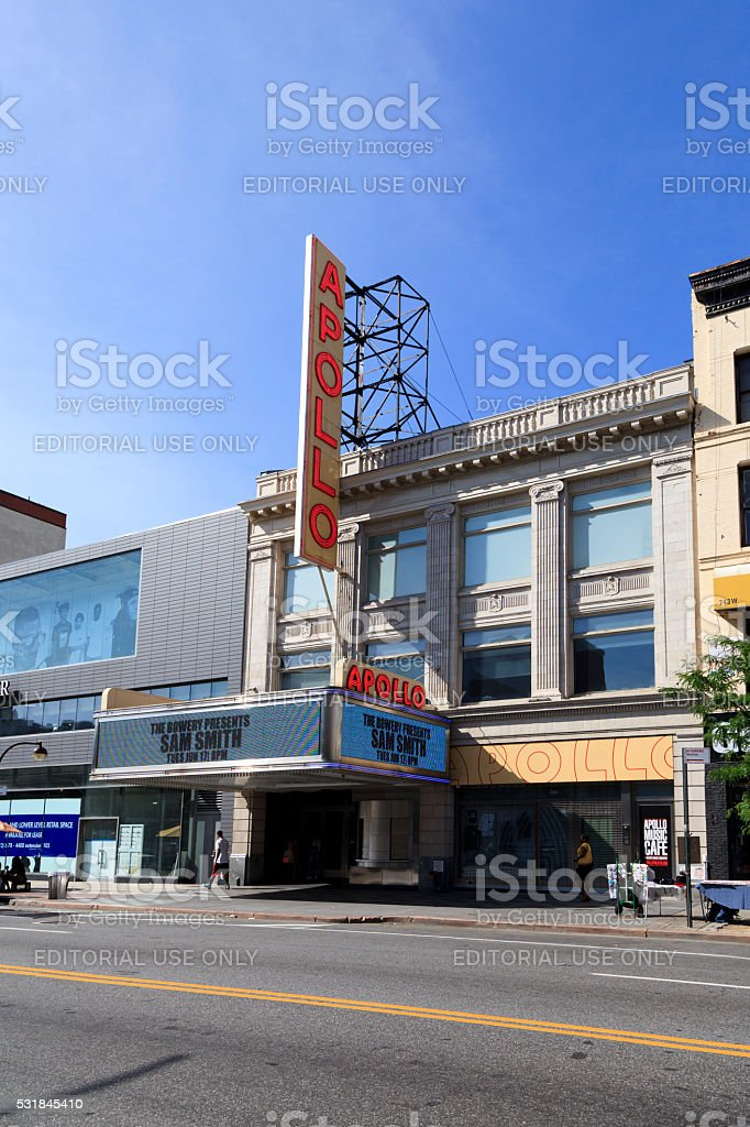 Apollo Theatre stock photo