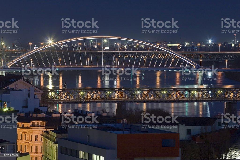 Apolo Bridge From Castle royalty-free stock photo
