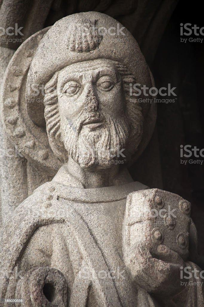Apostle Santiago royalty-free stock photo