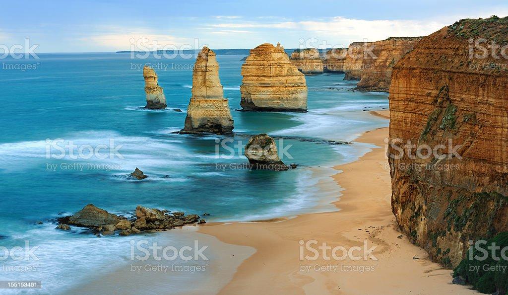 12 Apostles, Great Ocean Road, Victoria, Australia (XXXL) stock photo