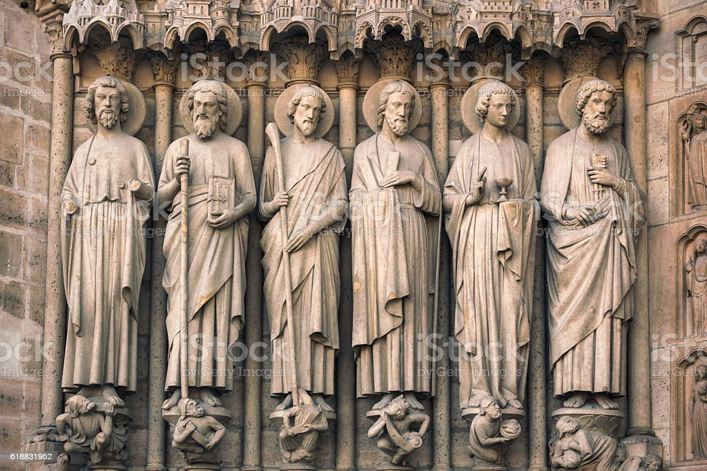 Apostles of Christ I stock photo