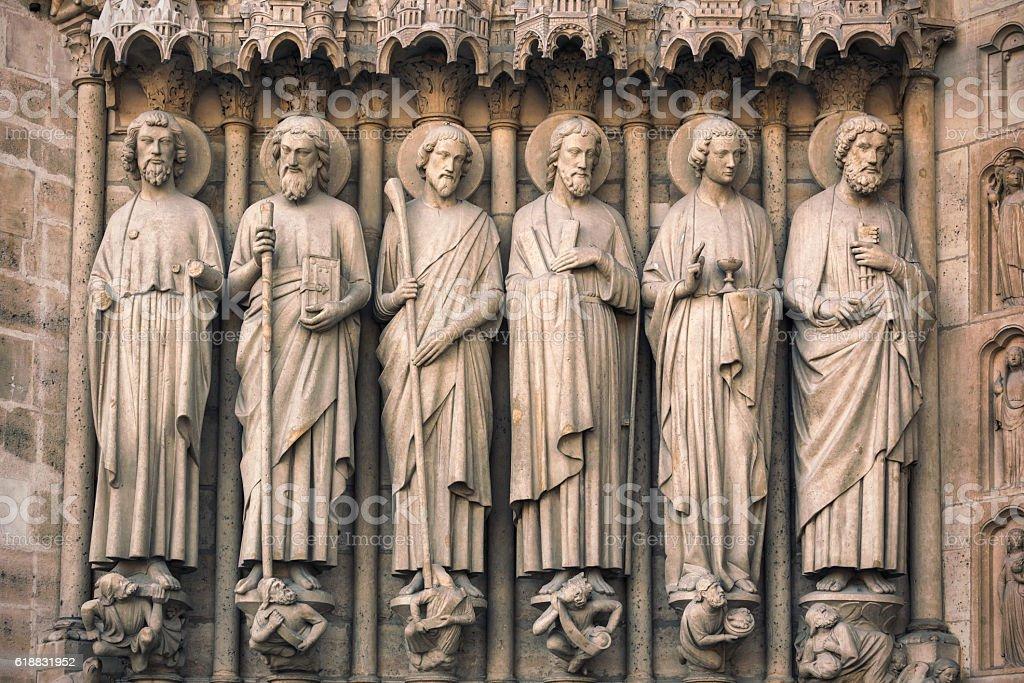 Apostles of Christ I stock photo