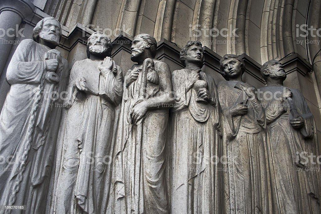 Apostles royalty-free stock photo