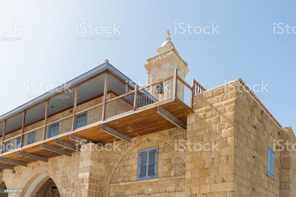 Apostolos Andreas Monastery, Karpasia, Cyprus, following the 2016 chiurch restoration stock photo