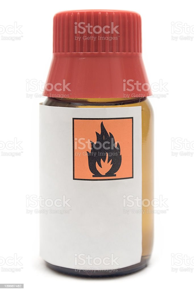 Apothecary Bottle stock photo