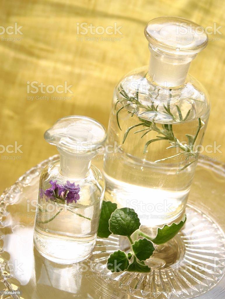 Apothecary Bottles royalty-free stock photo