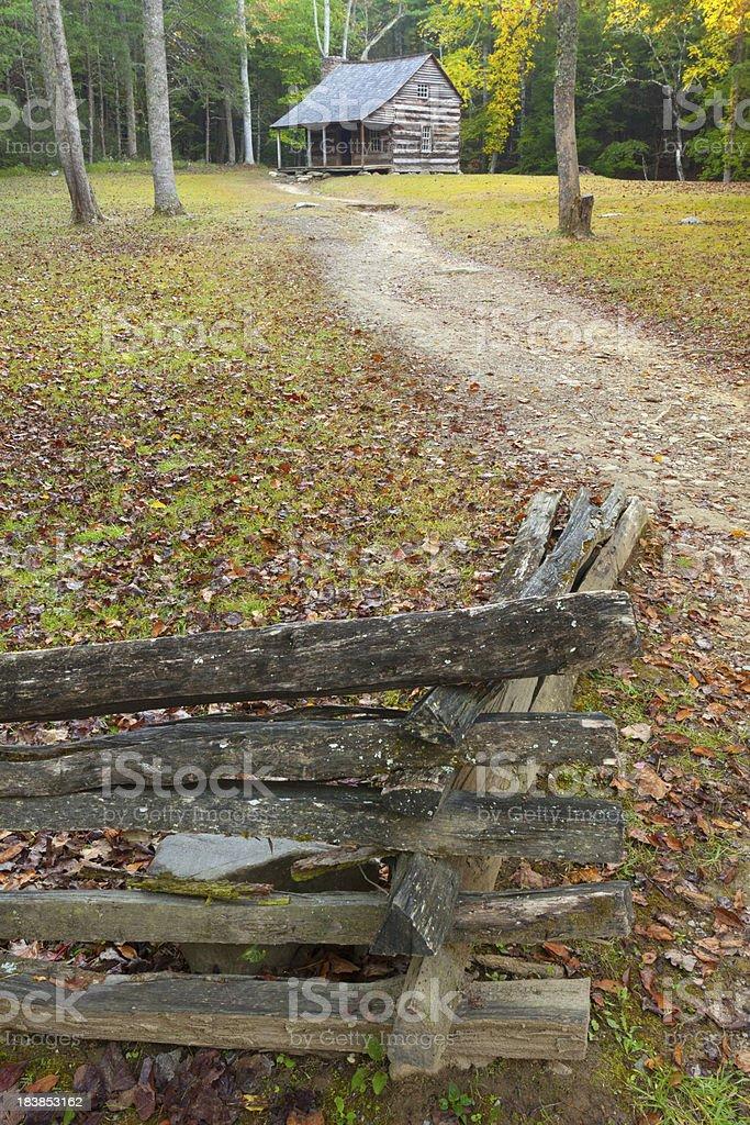 Appalachia Cabin royalty-free stock photo