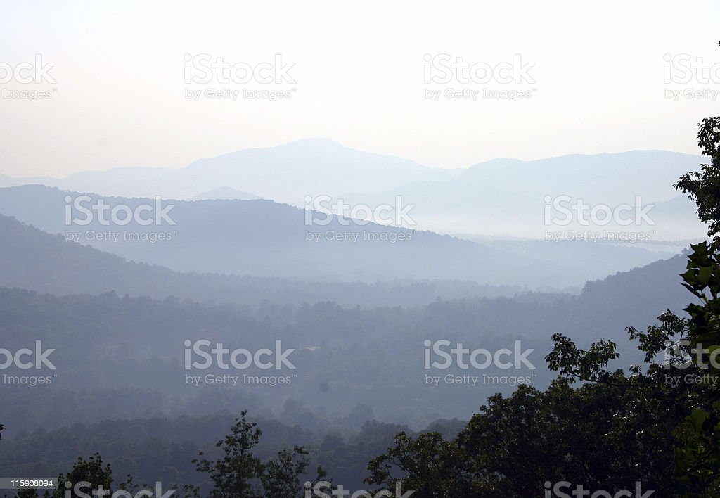Appalachian Mountains royalty-free stock photo