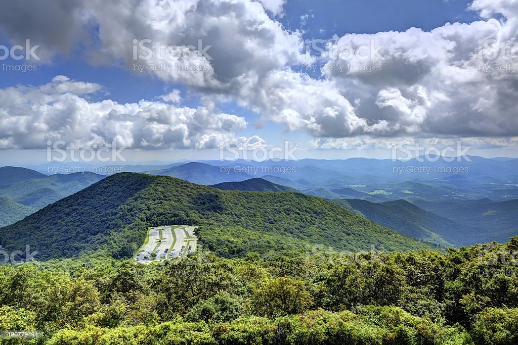Appalachian Mountains royalty-free stock photo