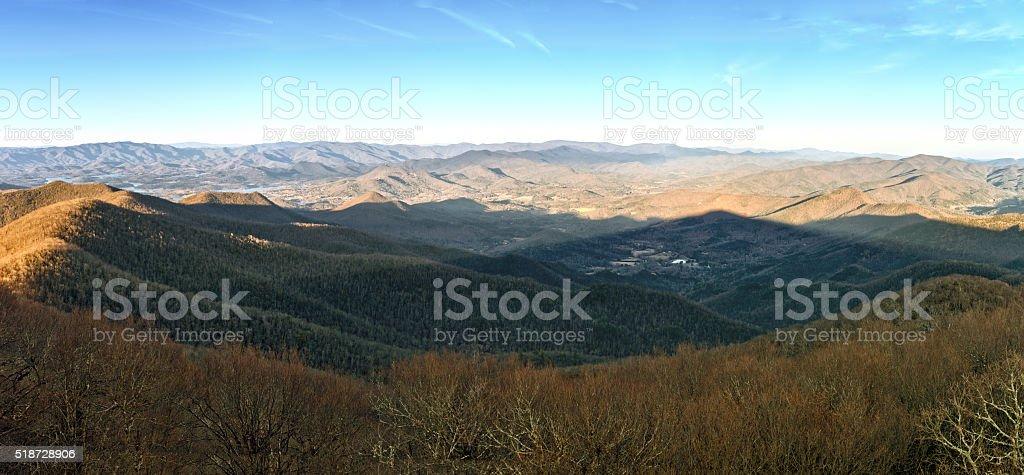 Appalachian Panorama stock photo