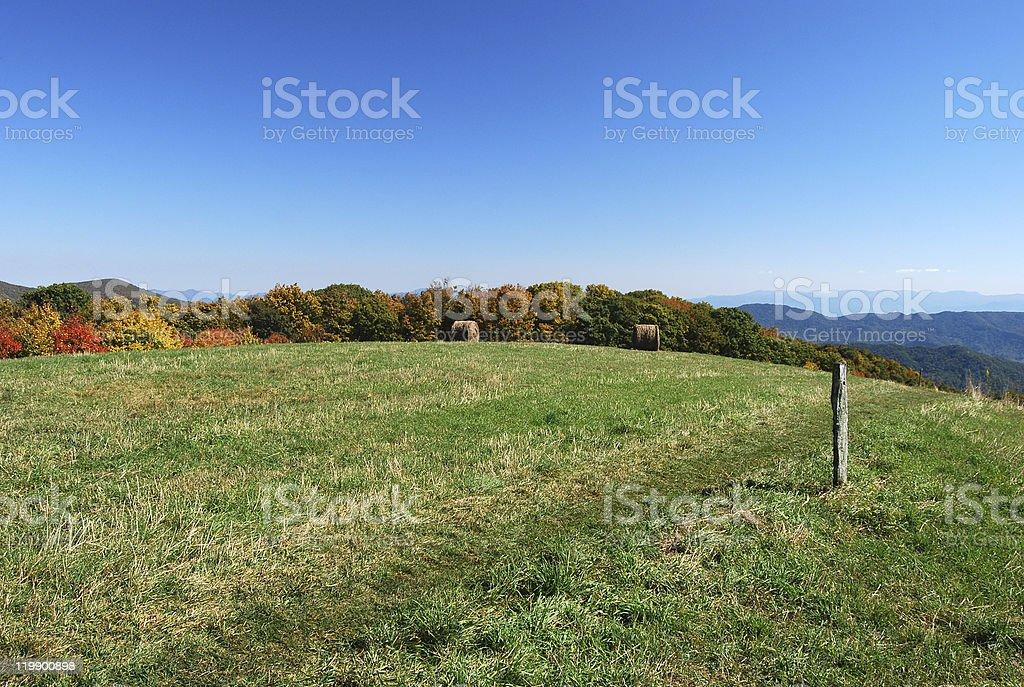 Appalachian Trail, North Carolina royalty-free stock photo