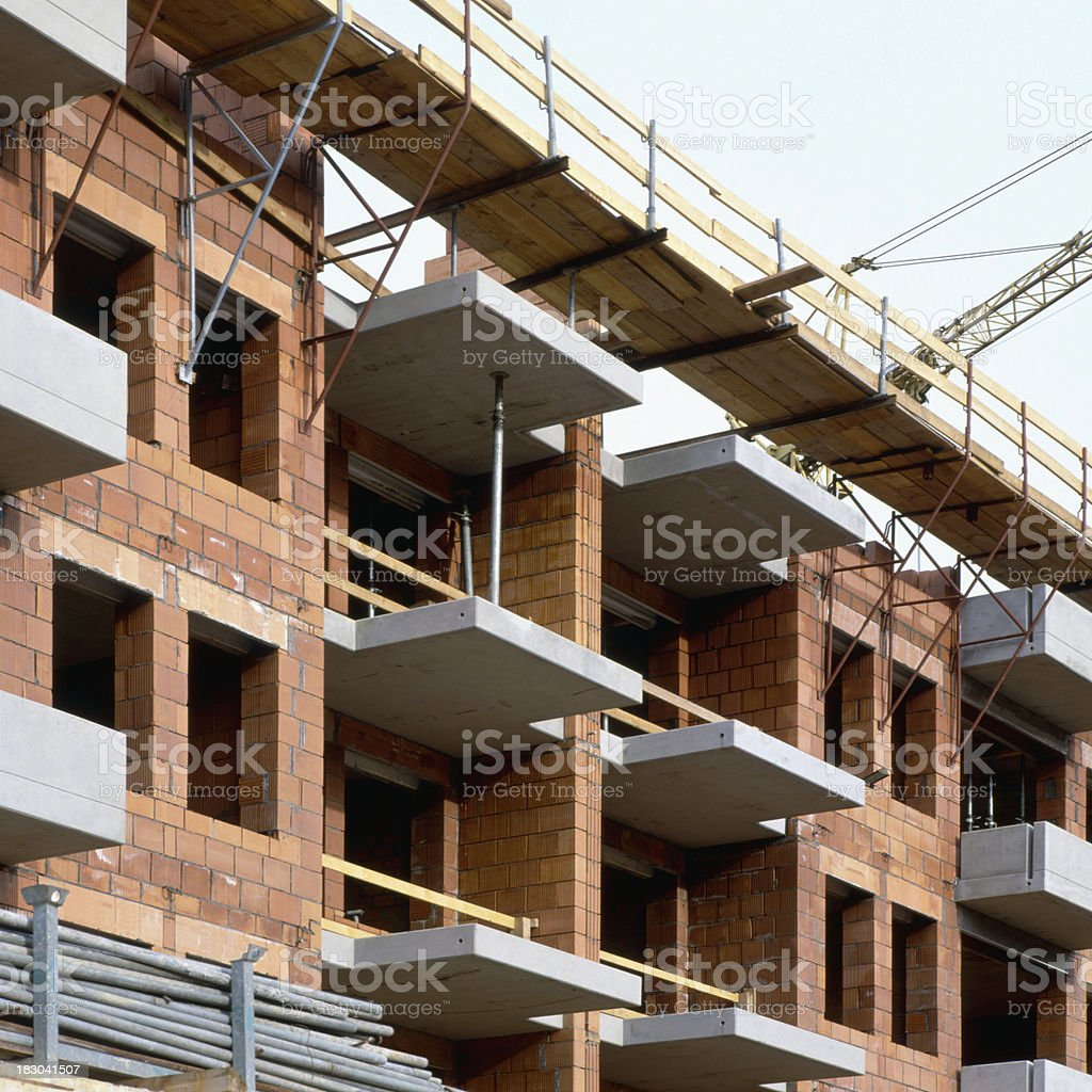 Appartment Construction stock photo