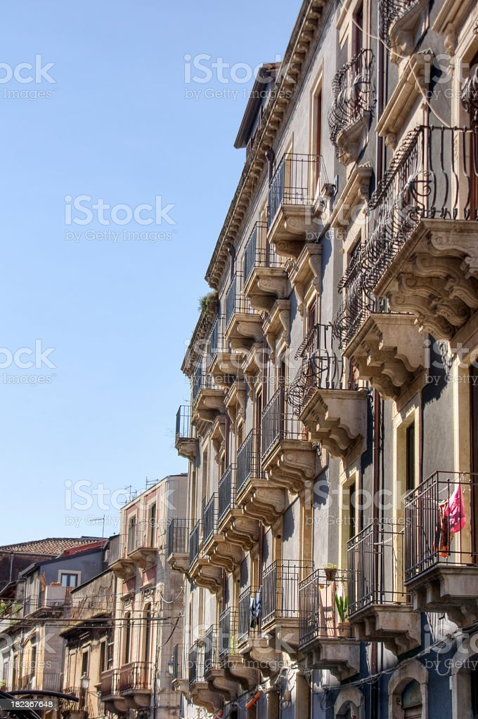 Appartments in Sicily royalty-free stock photo