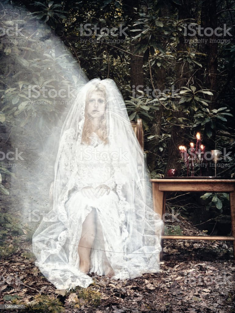 Apparition royalty-free stock photo