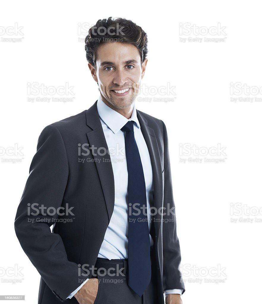 Appearing professional is the key to corporate success royalty-free stock photo
