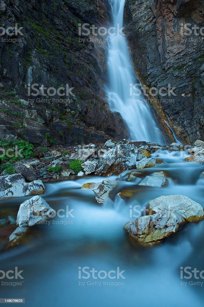 Appekuny Falls royalty-free stock photo