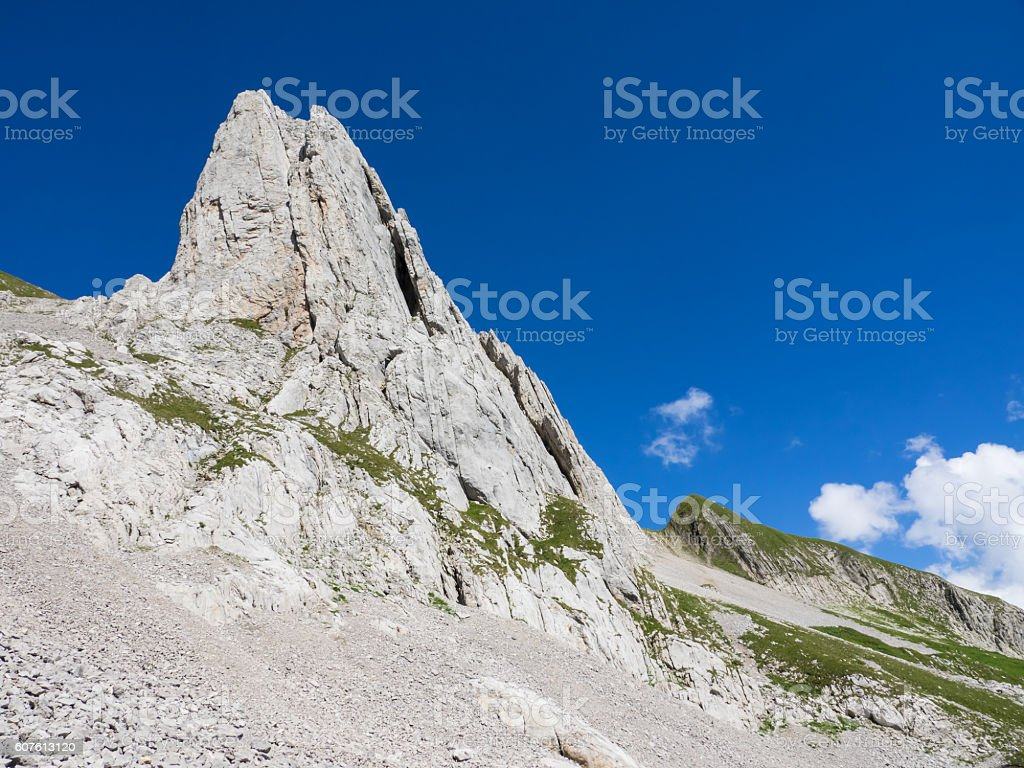 Appenzell Alps in Switzerland stock photo