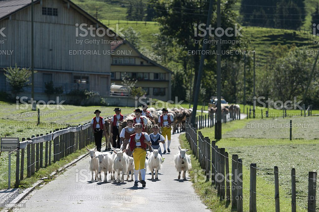 Appenzell royalty-free stock photo