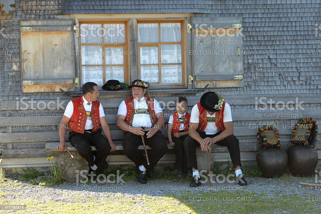 Appenzell stock photo